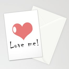 Love me! Stationery Cards