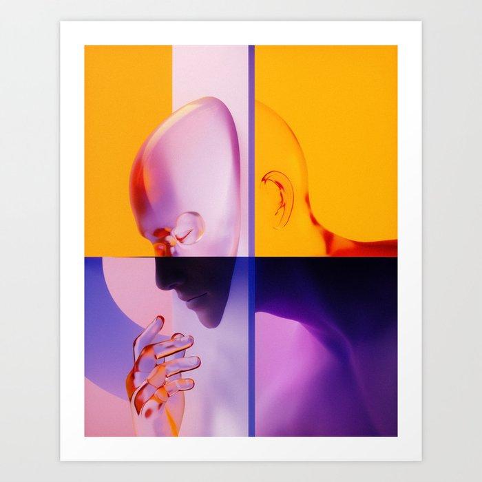 Underneath Art Print