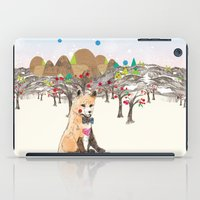 merry christmas iPad Cases featuring MERRY CHRISTMAS!!!!! by Jo Cheung Illustration