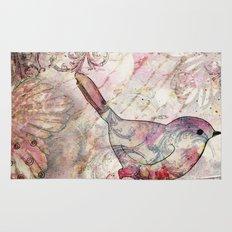 Sweet autumn birdie Rug
