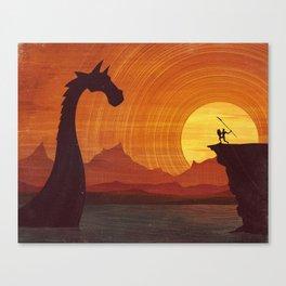 No Passage Canvas Print