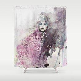FASHION ILLUSTRATION 15 Shower Curtain