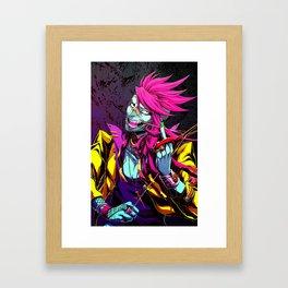 Scissors and Stitches Framed Art Print
