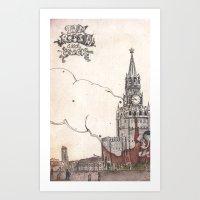 Moscow III Art Print