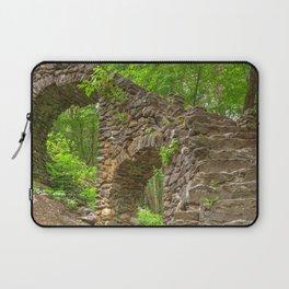 Forest Castle Ruins Laptop Sleeve