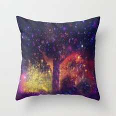 nature space-51 Throw Pillow