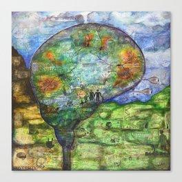 Neuronal Mind Canvas Print