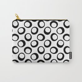 Black and White 8 Carry-All Pouch