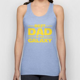 Best Dad in the Galaxy Unisex Tank Top