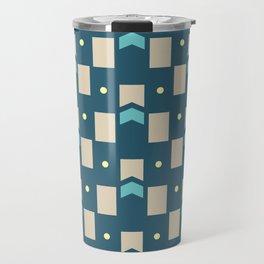 Art Deco Geometric Pattern 274 Travel Mug