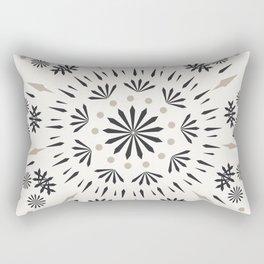 Snowflakes Scandic Nordic Rectangular Pillow