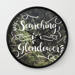 Searching for Glendower Wall Clock