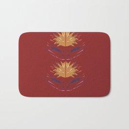 Design elements  Folk, polish  RED Bath Mat