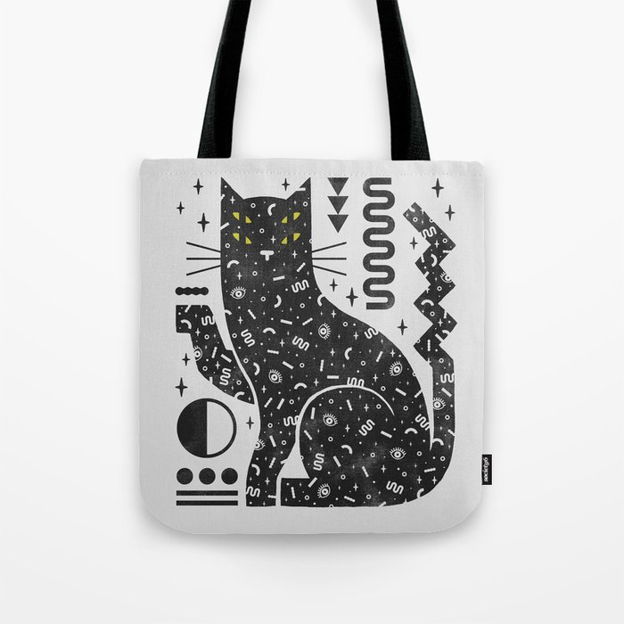 Magic Cat Tote Bag