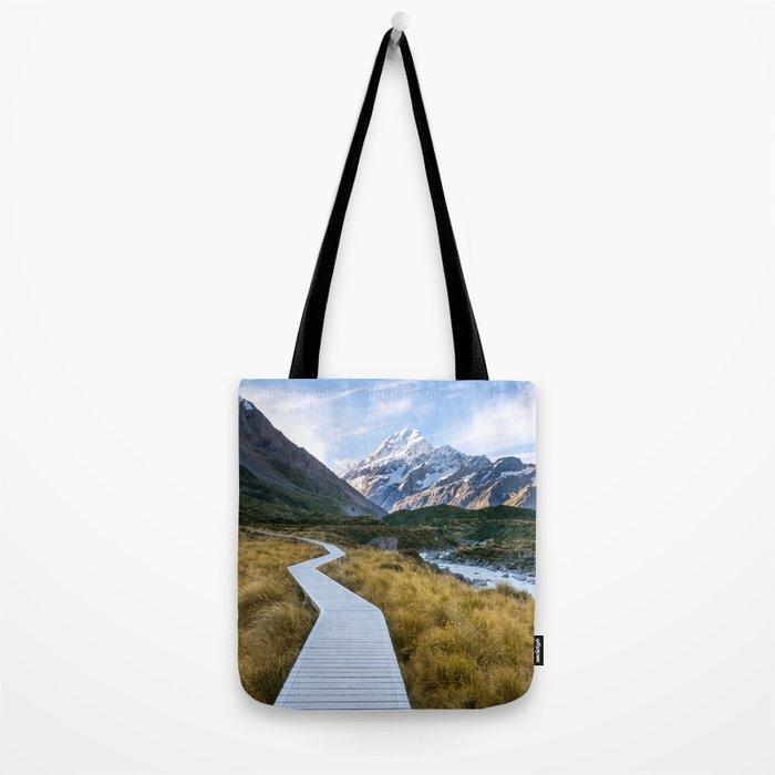 Mt.Cook New Zealand - A hikers dream Tote Bag