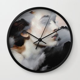 Among The Clouds Wall Clock