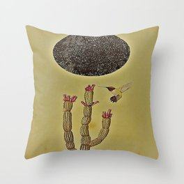 Lovers in the Night. Throw Pillow