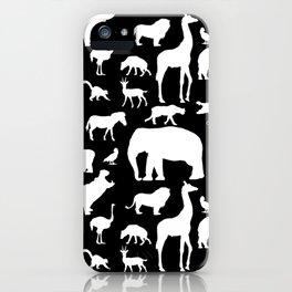 African Fauna iPhone Case