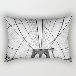 Brooklyn Bridge, NYC Rectangular Pillow