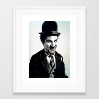 charlie Framed Art Prints featuring Charlie by AUSKMe2Paint