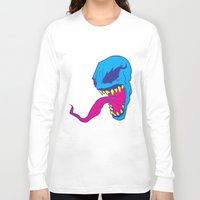 venom Long Sleeve T-shirts featuring Venom. by Hussein Ibrahim