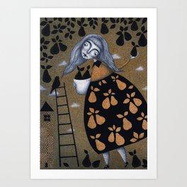 The Pear Tree Art Print