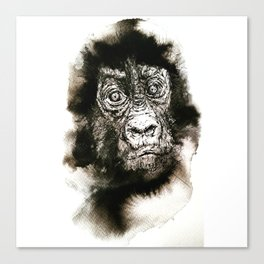Animal's Life Canvas Print