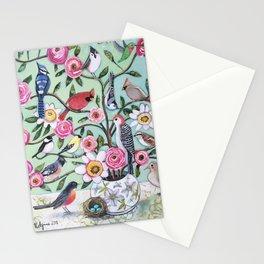 Bird Vines Stationery Cards