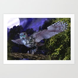 Sovereign of the Skies  Art Print