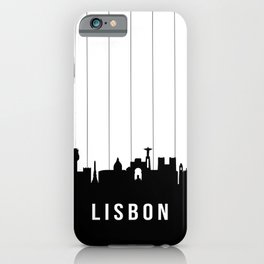 Lisbon Skyline iPhone Case