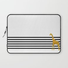 Gold Giraffe Laptop Sleeve