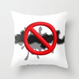 No Mess Throw Pillow