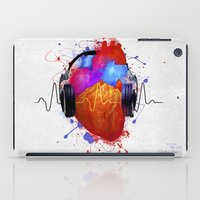 charli xcx iPad Cases featuring No Music - No Life by Sitchko Igor