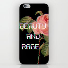 Beauty And Rage iPhone Skin