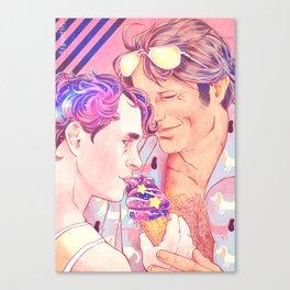 Nigel and his Galaxy Boy Canvas Print