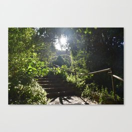 Waimea Valley Oahu Hawaii USA Canvas Print