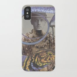Salvaged Relatives (07) iPhone Case