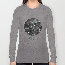 Virgo Constellation Long Sleeve T-shirt