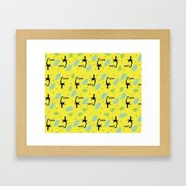 Keel billed toucan Framed Art Print