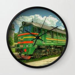 Latvian Loco double Wall Clock