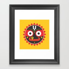 Lord Jagnnath Framed Art Print