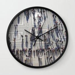 Milan six O'clock shadows Wall Clock