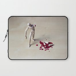 hurting woody man Laptop Sleeve