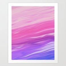 Izzy Randy Art Print