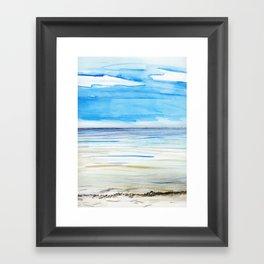 Changing weather Framed Art Print