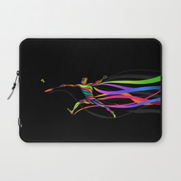 Badminton player Laptop Sleeve