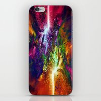 chaos iPhone & iPod Skins featuring Chaos by Robin Curtiss