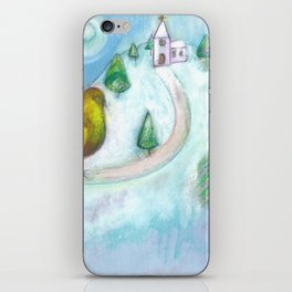 Christmas Dream Bird iPhone Skin