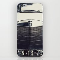 mercedes iPhone & iPod Skins featuring Benz by farsidian