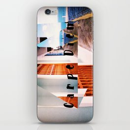 Carpe Diem in Puerto Rico iPhone Skin